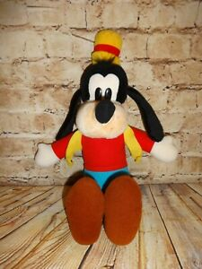 "Vintage Disneyland Walt Disney World Goofy Plush 19"" Stuffed Animal"
