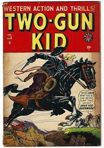 Two-Gun Kid #6 - Syd Shores cover -  Russ Heath, Gene Colan art - TGL