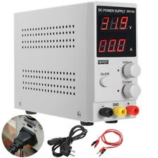 30V 10A 220V Digital Switching Precision Variable DC Power Supply Adjustable Lab