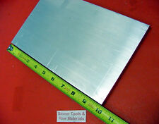 "3/8"" X 8"" X 10"" ALUMINUM 6061 FLAT BAR SOLID T6511 New Mill Stock Plate .375"""