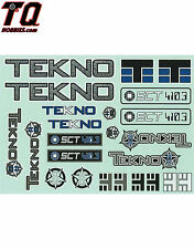 tTekno RC Decal Sheet SCT410.3 TKR5548 Fast ship+ tracking