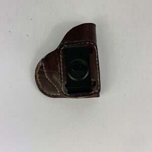 Outbags Genuine Leather .380 IWB (In Waist Band) Concealed Carry Holster