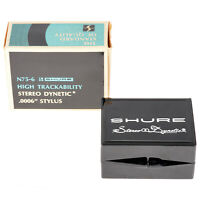 GENUINE New Old Stock SHURE N75-6 Stereo Dynetic Diamond STYLUS Boxed See Pics