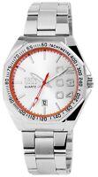 Herrenuhr Silber Datum Analog Quarz Metall Modisch Armbanduhr D-3122280007500