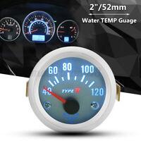 Strumento 2'' 52mm Led Digitale Termometro Temperatura Acqua Manometro Auto  &