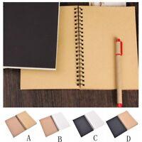 School Stationery Spiral Bound Coil Crafts Sketchbook Art Paper Notebook