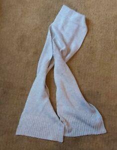 Ladies 'MATALAN' Biege thick woven scarf. vgc.