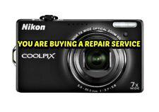 NIKON S6000 REPAIR SERVICE for your BROKEN DIGITAL CAMERA-60 DAY WARRANTY
