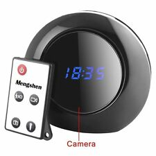 Mini Spy Camera Alarm Clock Micro Hidden Nanny Cam Motion Detection DV DVR Video