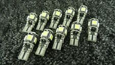 LAND ROVER WHITE CAR LIGHT BULBS LED CANBUS 5 SMD XENON