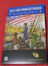 2012 Star Spangled Banner Bicentennial Commemorative Silver Dollar Set - AUCTION