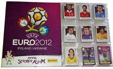 COLECCION COMPLETA EUROCOPA 2012 PANINI, EURO 2012 (540 CROMOS + ALBUM) COMPLETO