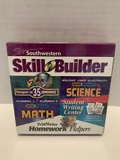 Southwestern Skill Builder Kids Cd ROM Math Science Language Student Writing