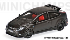 Minichamps 877088100 - Ford Focus Rs – 2008 – Negro Mate L. E. 500 Pzs.