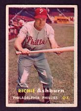 1957 Topps #70 Richie Ashburn Philadelphia Phillies VG