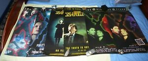 X-Files 6 Video Advert Posters