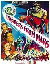 Invaders from Mars 1953  DVD Horror Sci-Fi Movie Film CLASSIC PD
