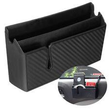 PVC in Fibra di Carbonio Stile Auto Air Vent BRACCIOLO scatola di immagazzinaggio Organizzatore Titolare Per PH