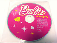 Barbie Lets All Party 2009 Music Cd Album Various Artists - DISC ONLY in Sleeve