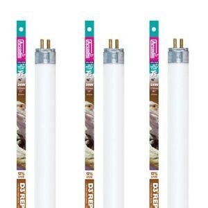 Arcadia T5 Reptile Lamp D3+ Bulb 12% UVB Desert Natural Light Tube 24W, 39W, 54W