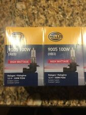 Hella 9005 100W High Wattage Bulb, Pair of Two! Free Shipping.