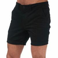 Mens Jack & Jones Base Chino Shorts In Black