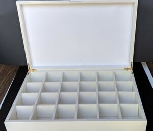 Wholesale Wooden Tea Bag Chest (24 compartments)