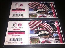 2014 Cincinnati REDS *OPENING DAY* Ticket Stub - SEASON TICKET HOLDER Mr Redlegs