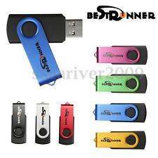 Lot 10 8G USB Flash Drive 8GB Memory Pen Key Thumb Stick Bulk Pack BESTRUNNER