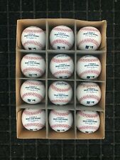 12 MLB Used Rawlings Official Major League Baseballs CLEAN SWEET SPOTS - Lot 3