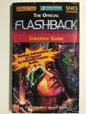 Flashback Quest for Identity Official Strategy Players Guide Hintbook