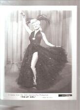 """original 1944 Betty Grable """"Pin Up Girl"""" publicity photo"""