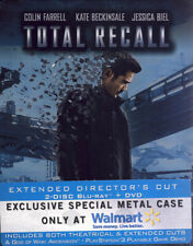 TOTAL RECALL - EXTENDED DIRECTOR S CUT (STEELBOOK) (BLU-RAY + DVD + DI (BLU-RAY)
