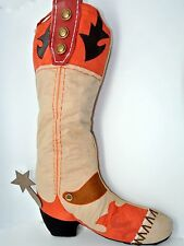Living Quarters 18 Inch Western Cowboy Christmas Stockings