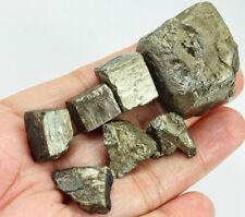 369Ct Natural Brazilian Pyrite Crystal Cube Facet Rough Specimen YYT32