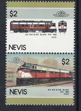 NEVIS LOCO 100 NY NH & HR Bo-A1A FL9 LOCOMOTIVE UNITED STATES STAMPS MNH