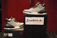 Air Jordan 3 III Wolf Grey Retro OG Cement w/ Receipt Size 9.5