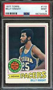 1977-78 TOPPS #110 BILLY KNIGHT PSA 9 PACERS  *K4906