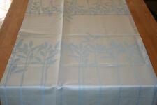 Dibbern Botanic Tischläufer Halbleinen 50 x 170 cm Hellblau/creme