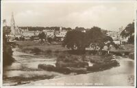real photo Kelso and the river teviot from teviot bridge JB white