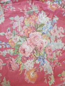 Ralph Lauren Beach House Floral Queen Fitted Sheet South Hampton Melissa
