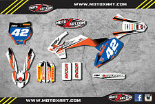KTM 50 2016 / 2017 - STORM STYLE -  Full Graphics, custom kit stickers decals