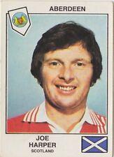 PANINI FOOTBALL 1979 ABERDEEN JOE HARPER SCOTLAND
