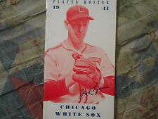 1941 CHICAGO WHITE SOX MEDIA GUIDE Yearbook PLAYER ROSTER Press Book Program AD