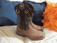 John Deere Square toe boots