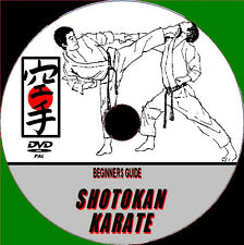 SHOTOKAN KARATE VIDEO DVD EXPERT TUITION BEGINNERS SELF DEFENCE ATTACKS COUNTERS