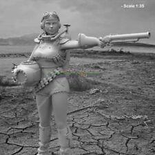 NEW Resin Unpainted Figure Model Female Warrior Garage Kit Wasteland Girl Statue
