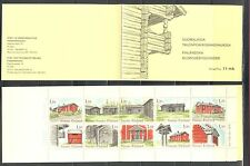 ARCHITECTURE FARM HOUSES FINLAND 1979 Sc 626 BOOKLET, LOT OF 2, MNH