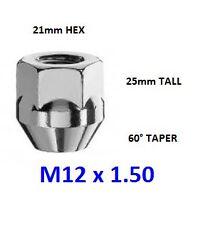 1 * M12 x 1,5 21mm ESAGONALE FORD LEGA RUOTA DADO aperto FIESTA FOCUS KA MONDEO C-MAX