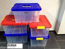 10X Eurobox Stapelbox Lager-Box Kiste mit Deckel 44x35x24cm Neuware Aufbewahrung